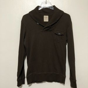 Fossil Pullover Sweater Size Small Brown